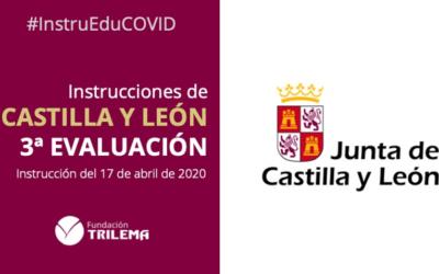 La instrucción de Castilla y León para el final de curso