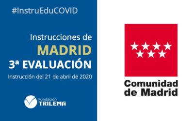 La Consejería de Educación de Madrid y el final de curso